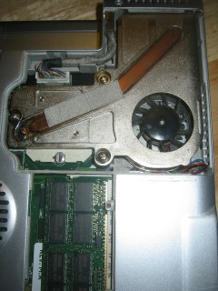 Step 3: Remove CPU/heatsink cover.
